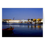 Portugal Seaside I - Sapphire & Crimson Magic Greeting Card