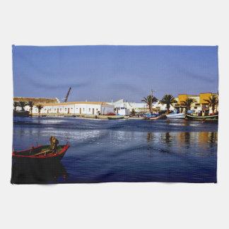 Portugal Seaside I - Sapphire & Crimson Magic Towels