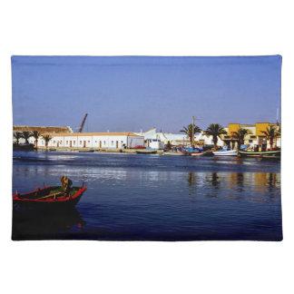 Portugal Seaside I - Sapphire & Crimson Magic Place Mat