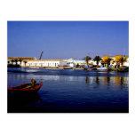 Portugal Seaside I - Sapphire & Crimson Magic Postcard