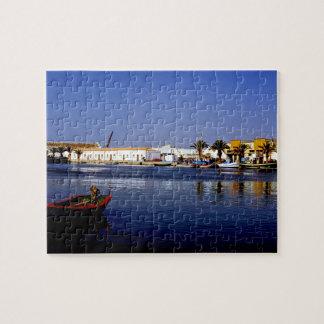 Portugal Seaside I - Sapphire & Crimson Magic Puzzle