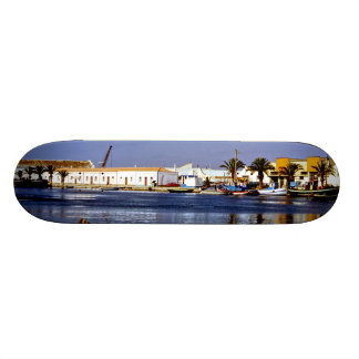 Portugal Seaside I - Sapphire & Crimson Magic Skateboard Decks