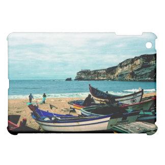 Portugal Seaside IV - Colorful Boats on the Beach iPad Mini Cases