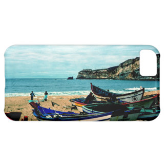 Portugal Seaside IV - Colorful Boats on the Beach iPhone 5C Case