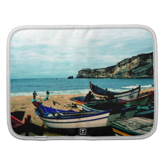Portugal Seaside IV - Colorful Boats on the Beach Organizer