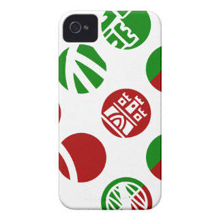 Portugal símbolos diseños iPhone 4 Case-Mate cárcasa