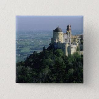 Portugal, Sintra, Pena Palace, atop Serra da Pinback Button