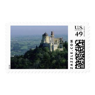 Portugal Sintra Pena Palace atop Serra da Stamps