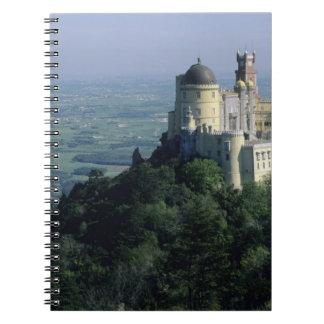 Portugal, Sintra, Pena Palace, atop Serra da Spiral Notebook