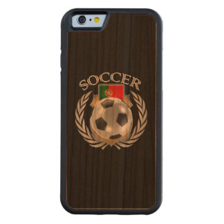 Portugal Soccer 2016 Fan Gear Carved Cherry iPhone 6 Bumper Case