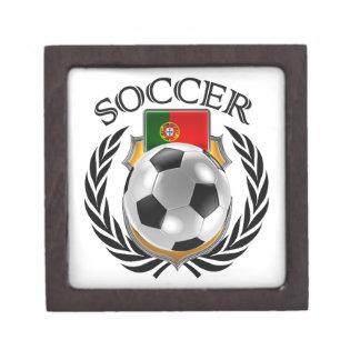 Portugal Soccer 2016 Fan Gear Jewelry Box