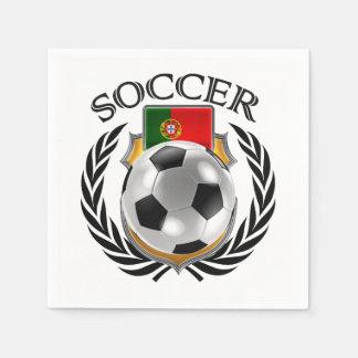 Portugal Soccer 2016 Fan Gear Napkin