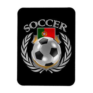 Portugal Soccer 2016 Fan Gear Rectangular Photo Magnet