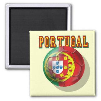 Portugal Soccer 2 Inch Square Magnet