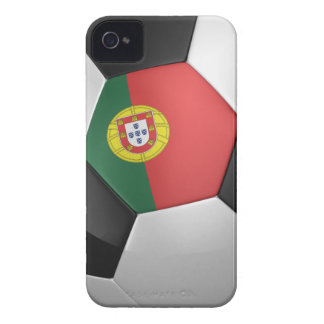 Portugal Soccer Ball iPhone 4 Case
