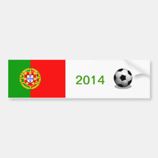 Portugal Soccer Bumper Sticker