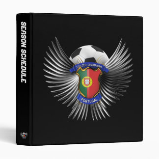 Portugal Soccer Champions Binder
