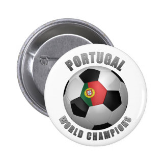 PORTUGAL SOCCER CHAMPIONS BUTTONS