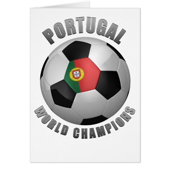 PORTUGAL SOCCER CHAMPIONS CARD