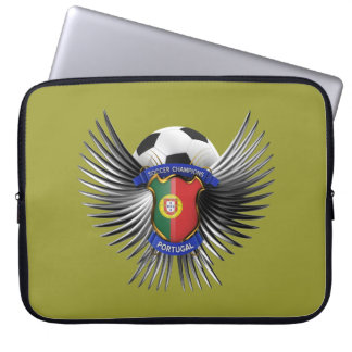 Portugal Soccer Champions Computer Sleeve