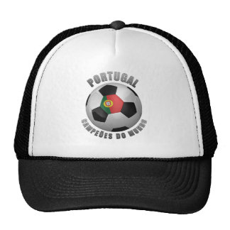 PORTUGAL SOCCER CHAMPIONS HAT