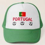 Portugal Soccer Hat