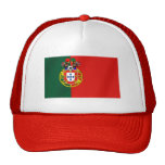 Portugal Soccer Mesh Hats