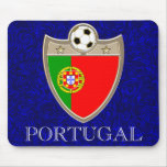 Portugal Soccer Mouse Pad