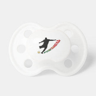 Portugal Soccer Pacifier
