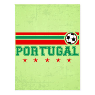Portugal Soccer Postcard