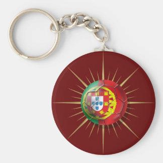 Portugal Soccer Starburst Soccer ball gifts Keychain
