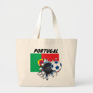 Portugal Soccer Swag Jumbo Tote Bag