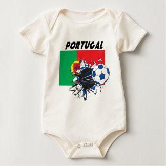 Portugal Soccer Swag Bodysuit