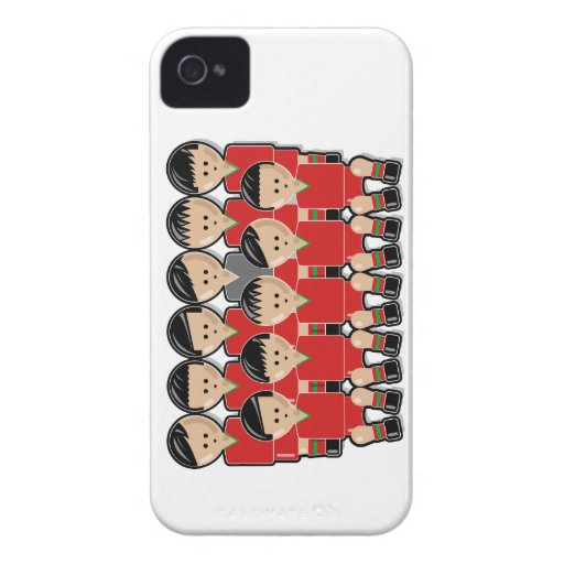 Portugal soccer team.ai iPhone 4 Case-Mate protectores