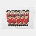 Portugal soccer team.ai toalla de cocina