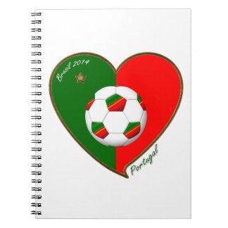 """PORTUGAL"" Soccer Team. Fútbol portugués 2014 Libreta"