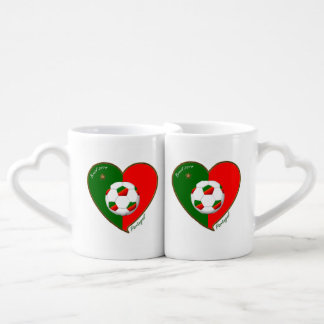 PORTUGAL Soccer Team Fútbol portugués 2014 Taza Amorosa