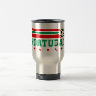 Portugal Soccer Travel Mug