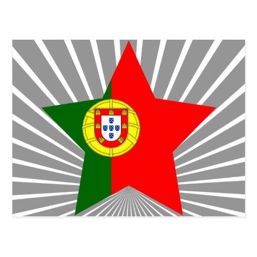 Portugal Star Postcard