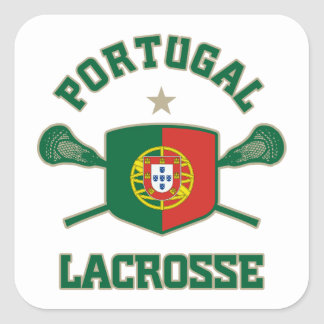 Portugal Square Stickers