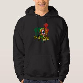 Portugal Suéter Con Capucha