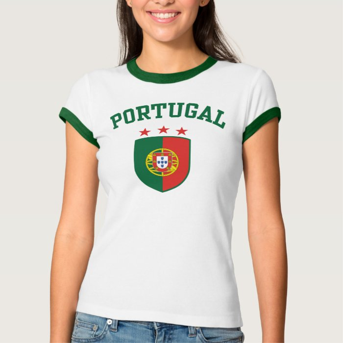 portugal t shirt zazzle. Black Bedroom Furniture Sets. Home Design Ideas