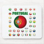Portugal t-shirt D7 Mouse Pad
