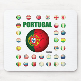 Portugal t-shirt D7 Mouse Pad