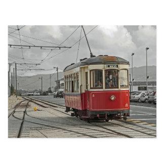 Portugal: The tramway Sintra and Praia das Mäças Postcard
