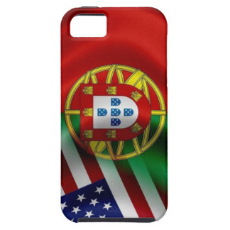 Portugal/USA Flag Iphone 5 Case