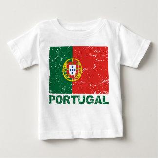 Portugal Vintage Flag Baby T-Shirt