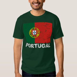 Portugal Vintage Flag Tee Shirt