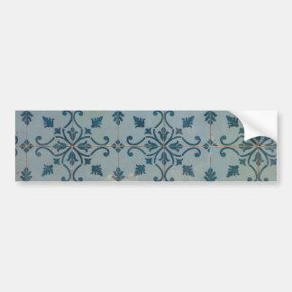 Portugal Vintage Mosaics Bumper Sticker