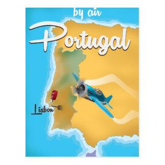 Portugal vintage travel poster postcard